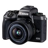 Canon EOS M5 Mirrorless Camera in Black + EF-M 15-45mm f/3.5-6.3 IS STM Lens