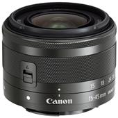 Canon EF-M 15-45mm f/3.5-6.3 IS STM Lens in Graphite