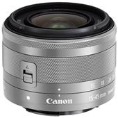 Canon EF-M 15-45mm f/3.5-6.3 IS STM Lens in Silver