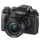 Fujifilm X-T2 Mirrorless Camera in Black + XF18-55mm Lens