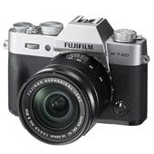 Fujifilm X-T20 Mirrorless Camera in Silver + 16-50mm Lens