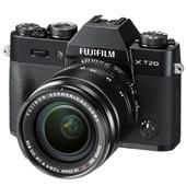 Fujifilm X-T20 Mirrorless Camera in Black + 18-55mm Lens