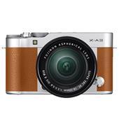 Fujifilm X-A3 Mirrorless Camera In Camel Brown + XC16-50mm