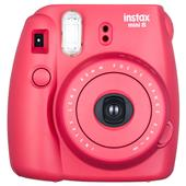 INSTAX Instax Mini 8 Instant Camera in Raspberry + 10 shots