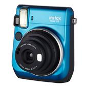 INSTAX Instax Mini 70 Instant Camera in Blue + 10 Shots