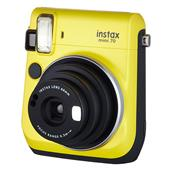 INSTAX Instax Mini 70 Instant Camera in Yellow + 10 Shots