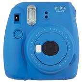 INSTAX Instax Mini 9 Instant Camera in Cobalt Blue + 10 Shots