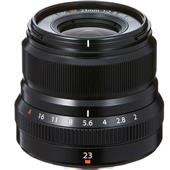 Fujifilm XF23mm F2 R WR Lens in Black
