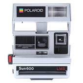 Impossible Project Polaroid 600 Instant Camera in Silver