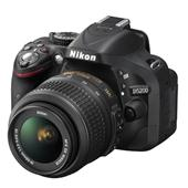 Nikon D5200 Digital SLR in Black with 18-55mm VR Lens