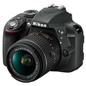 Nikon D3300 Digital SLR in Black + 18-55mm f/3.5-5.6 AF-P VR Lens