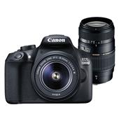 Canon EOS 1300D Digital SLR + EF-S 18-55mm f/3.5-5.6 DC III Lens + Tamron 70-300mm Macro Lens