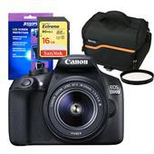 Canon EOS 1300D Digital SLR + EF-S 18-55mm DC III Lens + Accessories Bundle