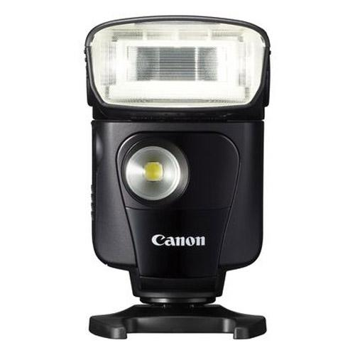 A picture of Canon Speedlite 320EX with LED Light Source