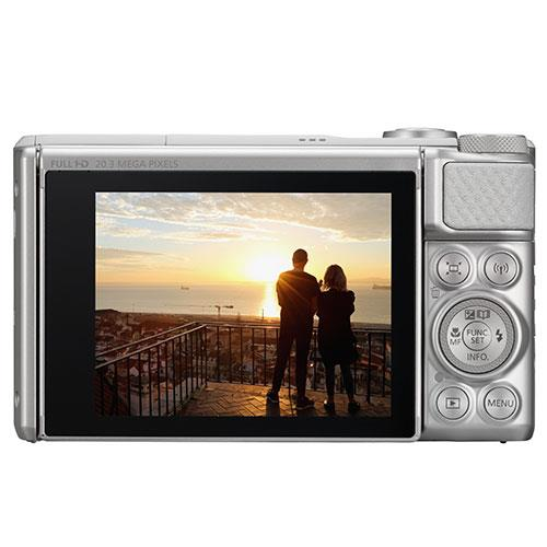 A picture of Canon PowerShot SX730 HS Digital Camera in Silver