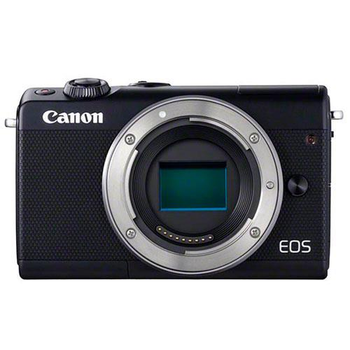 A picture of Canon EOS M100 Mirrorless Camera Body in Black