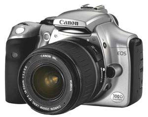 A picture of Canon EOS 300D (Body Only)
