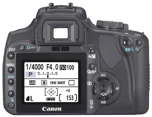 A picture of Canon EOS 400D Body