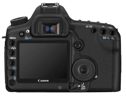 A picture of Canon EOS 5D Mk II Body