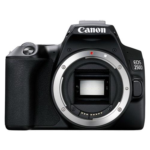 A picture of Canon EOS 250D Digital SLR Body in Black