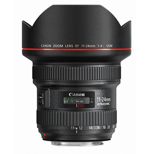 A picture of Canon EF 11-24mm f/4.0 L USM Lens.