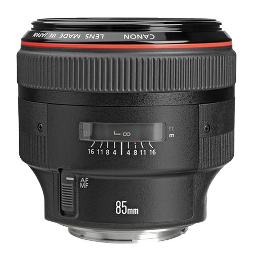 A picture of Canon EF 85mm f/1.2L II USM Lens