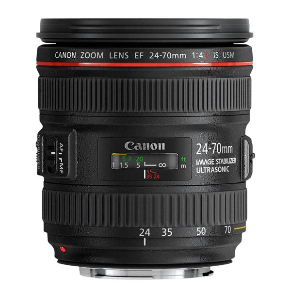 A picture of Canon EF 24-70mm f/4L IS USM Lens