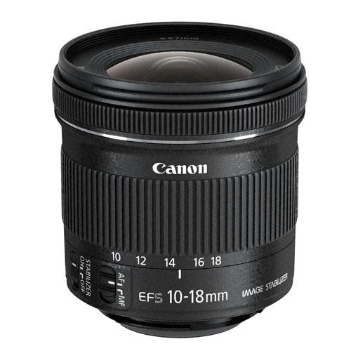 A picture of Canon EF-S 10-18mm f/4.5-5.6 IS STM Lens