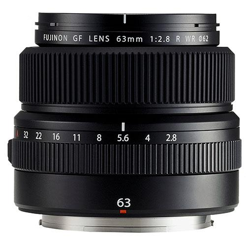 A picture of Fujifilm GF 63mm f/2.8 R WR Lens