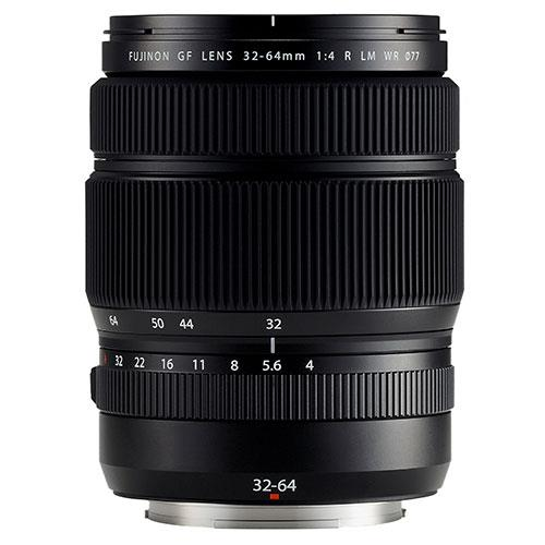A picture of Fujifilm GF32-64mm f/4.0 R LM WR Lens