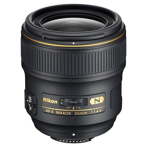 A picture of Nikon AF-S 35mm f/1.4G Lens