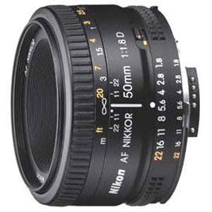 A picture of Nikon AF 50mm f/1.8D