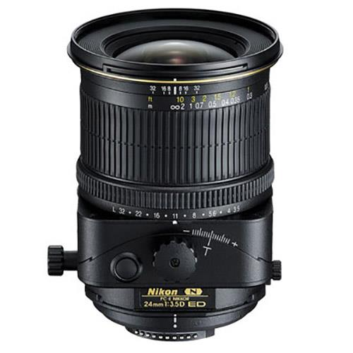 A picture of Nikon PC-E NIKKOR 24mm f/3.5D ED Lens