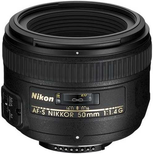A picture of Nikon AF-S 50mm f/1.4G Lens