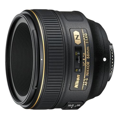 A picture of Nikon AF-S Nikkor 58mm f/1.4G Lens