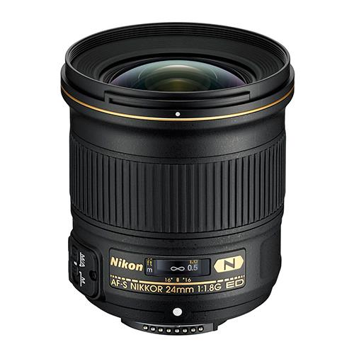 A picture of Nikon AF-S 24mm f/1.8G ED Lens