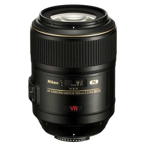 A picture of Nikon AF-S Micro 105mm f2.8G IF-ED VR Lens