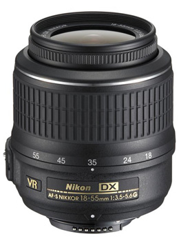 A picture of Nikon AF-S DX 18-55mm f/3.5-5.6G VR