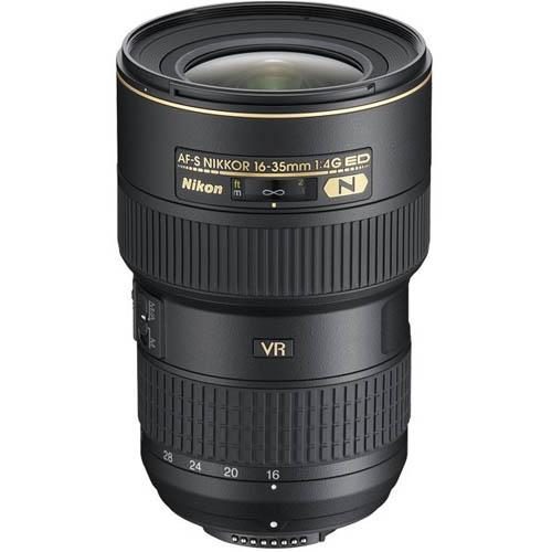A picture of Nikon AF-S 16-35mm f/4G ED VR Lens