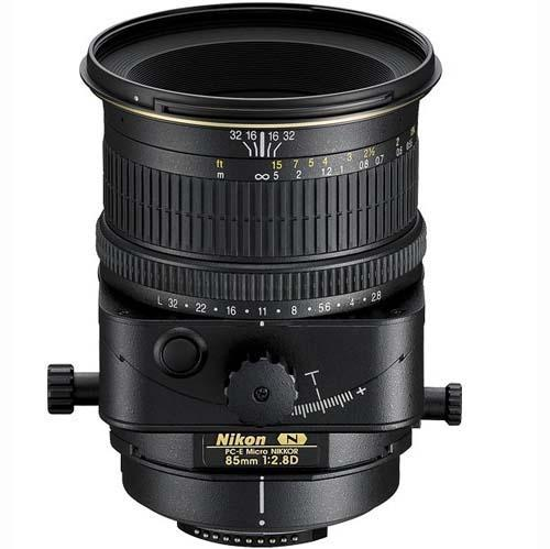 A picture of Nikon 85mm f2.8 PC-E Nikkor-ED Lens
