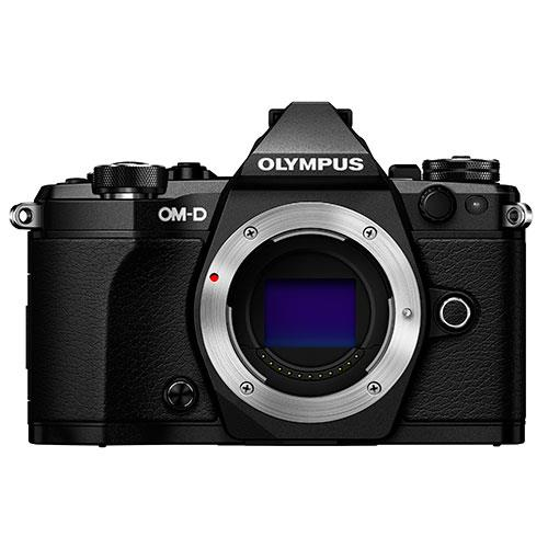 A picture of Olympus OM-D E-M5 Mark II Compact System Camera Body in Black
