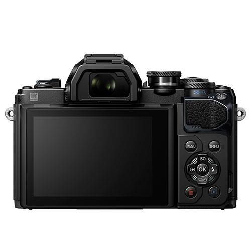 A picture of Olympus OM-D E-M10 Mark III Mirrorless Camera Body in Black