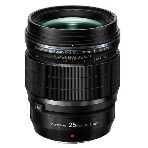 A picture of Olympus M.Zuiko Digital ED 25mm f/1.2 Pro Lens