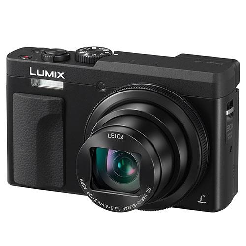 A picture of Panasonic Lumix DC-TZ90 Camera in Black