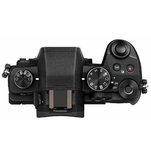 A picture of Panasonic Lumix DMC-G80 Mirrorless Camera Body in Black