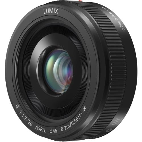 A picture of Panasonic 20mm f/1.7 ASPH G Pancake Lens