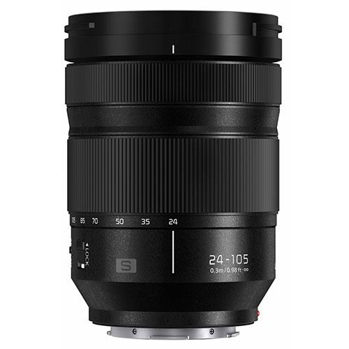 A picture of Panasonic Lumix S 24-105mm f/4 Macro O.I.S Lens S-R24105E