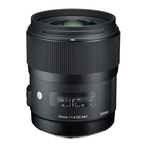 A picture of Sigma 35mm f/1.4 DG HSM ART - Sony FE Fit