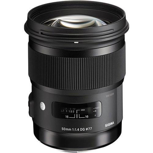 A picture of Sigma 50mm f/1.4 DG HSM ART Lens for Sony