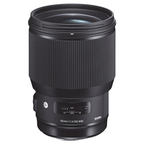 A picture of Sigma 85mm f/1.4 DG I HSM Lens for Canon